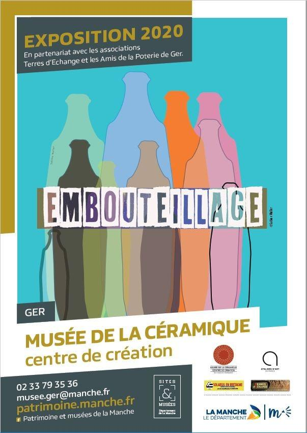 affiche expo Embouteillage GER